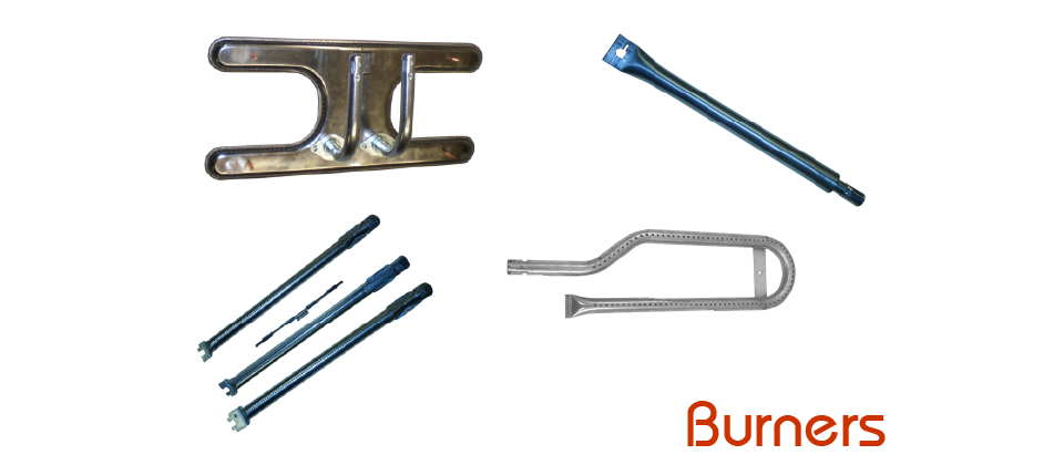 Burners - 100+ OEM Burner Types, Venturi, Cross-Over Tubes