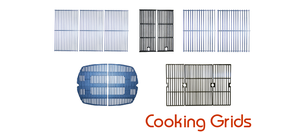 Cooking Grids - Most Major Brands - Rectangular, Indented, Round, Ledge
