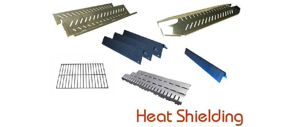Heat Shielding - Rock Grates, Heat Angles, Heat Plates, Ceramic Radients